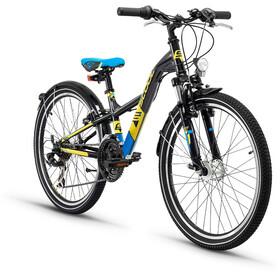 s'cool XXlite 24 21-S Childrens Bike steel black